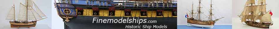 Finemodelships.com Historic Ship Models