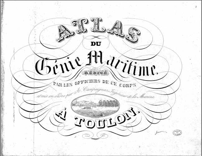 Atlas du Génie Maritime